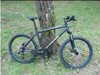 b'twin ONO This is a 2017 model has fluid brakes and lock on and off on the Handel bars