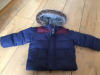 John Lewis hardly used baby Boys Jacket in excellent condition.