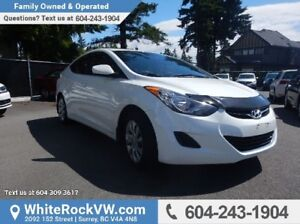 2012 Hyundai Elantra GL LOW KMS, SPLIT REAR FOLDING SEATS & W...