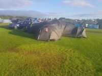 Proaction 9 man tent three bedroom and living room 8 man