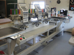 BROTHER 326 3-HEAD EMBROIDERY MACHINE