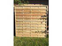 *NEW* HALF PRICE 16 x Elite/Houston Fence Panels 1.8 x 1.8m