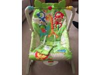 REDUCED- Fisher Price Rocker Seat - infant to toddler - great condition!
