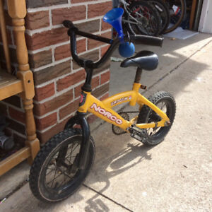 """Very good condition norco 12""""bike"""