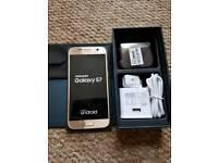 Samsung s7 32gb unlocked gold good condition