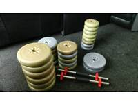 Free Weights (Gym/Dumbbell) 63.8KG!!