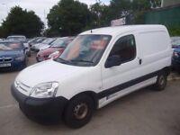 Citroen BERLINGO 600 HDI LX 75,Car derived van,full MOT,runs and drives well,clean tidy van,