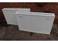 TWO X DUAL PANEL CONVECTOR RADIATORS