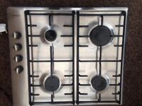 Stainless steel NEFF gas hob