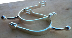 LADIES Silver SPURS - NEW
