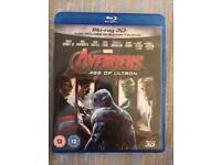 Avengers Age Of Ultron Bluray DVD
