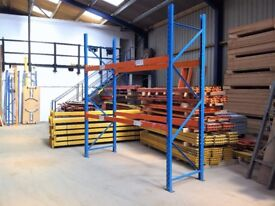 PLANNED STORAGE M SERIES INDUSTRIAL COMMERCIAL LONGSPAN PALLET RACKING UNIT BAY