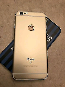 Gold iPhone 6s, 32gb, 9.5/10 condition, w/ accessories!