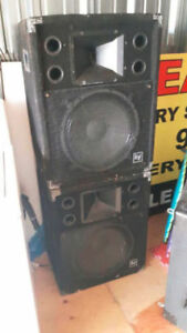 PA Speakers Available