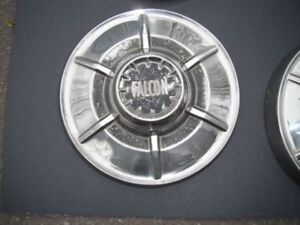 Falcon hub caps, 1964-65 stainless