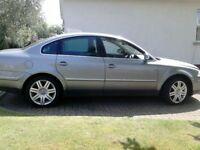 VW Pasaat Sport 20v Turbo, Grey, (2004) Petrol
