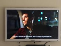 Samsung 32 inch lcd tv white
