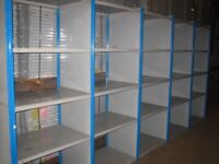 job lot 10 bays DEXION impex industrial shelving ( pallet racking , storage)