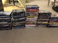 Over 100 dvds