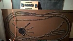 Old school HO scale track and ballast
