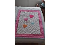 Cot/ First Bed duvet & sheets