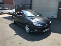 2006 PEUGEOT 206 CC 1.6 16v COUPE CABRIOLET SPORT,ONLY 1 OWNER FROM NEW PLUS