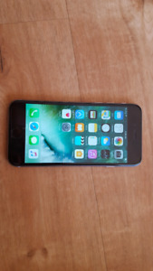 IPhone 6 16gb black Bell/Virgin Mobile for sale