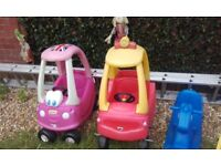 Two little tikes cars