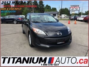 2013 Mazda MAZDA3 BlueTooth+Traction & Cruise Control+AUX & USB