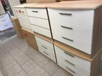 Clearance chest of drawers £45 each