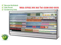 Remote Multideck Chiller 3.75 L@@K The PRICE !! + Condensing Unit + Side Panels + 1 Year FREE W + D
