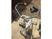 Old style exercise bike