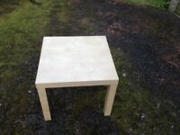 2 X small side tables.