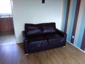 FREE 2 Seater Leather Sofa Bed