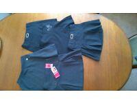 5 Grey School Skirts - Age 7-10 - One Never Worn Label Still Attached + FREE Unworn Tights