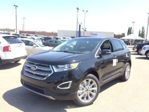 2017 Ford Edge 301A, TITANIUM, AWD, SYNC, NAV, PANORAMIC ROOF, H