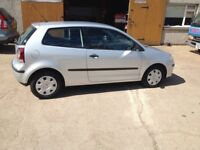 58 PLATE VOLKSWAGEN POLO 1.2(60PS) 3DR 65800MILES FSH £2750