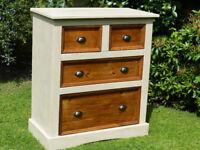 Shabby Chic Corona Pine chest of drawers