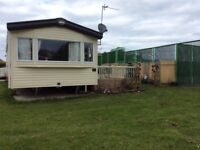 Static caravan , Wheelchair friendly, six berth, 18 month old, minutes from beach