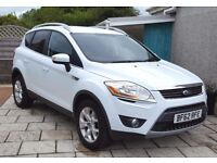 [4x4] Ford Kuga Titanium 4x4 2.0TDCi, with 40,000 miles, New MOT, and Serviced, Climate, Multi-spo..