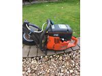 Husqvarna k750 cut off saw concrete metal Stihl saw