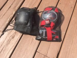 Child Roller Blade Knee/Elbow Pad sets - 2 sets available.