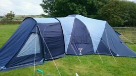 Complete family camping kit