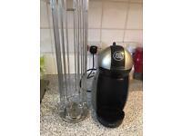 Nescafé Dolce Gusto machine and Pod Stand