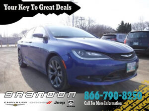 2016 Chrysler 200 S - Low Mileage, Power Seats, 8.4 Touch Screen