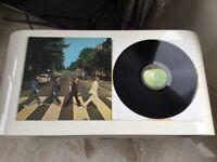 Beatles Abbey Road lp
