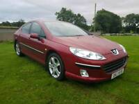 2006 PEUGEOT 407 2.0 HDI ONLY 89000 MILES..MOTED TO AUGUST 2018..POSSIBLE PART EXCHANGE
