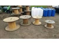 Cable drum reels