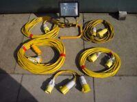 110Volt leads+site light