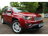 Jeep Compass 2.2CRD ( 161bhp ) 4X4 2014MY Limited